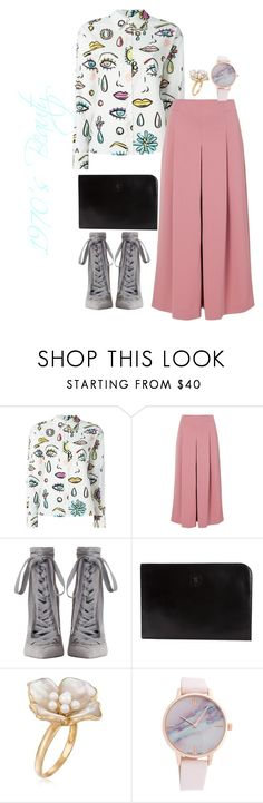 """""""1970's"""" by beanscupoftea ❤ liked on Polyvore featuring Boutique Moschino, TIBI, Zimmermann, CÉLINE and Ross-Simons"""