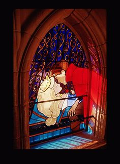 Sleeping Beauty window!!!!!! Ooh! My! This will most definitely be in my future home!!!!!