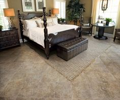 Tile for the Bed Room is Just at Popular as Wood Tile