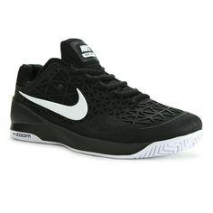 Nike Zoom Cage 2 Mens Tennis Shoe, Black/White, 705247 001