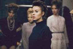 Dreamy Backstage Photography - The Ulyana Sergeenko SS 2012 Images Reveal an Elegant Collection (GALLERY)