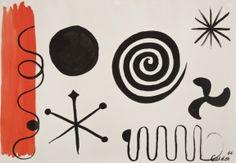 Alexander Calder - Black Compass