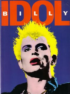 billy idol- always jamming to his songs