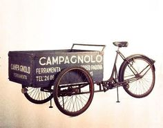bikeobsession: Campy cargo bike