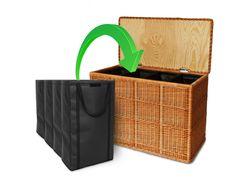 w schekorb w schetruhe 3 f cher w schesortierer 110x41xh60 cm chang 39 e 3. Black Bedroom Furniture Sets. Home Design Ideas