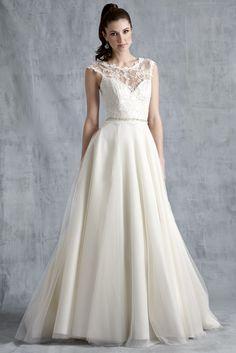 Vestido de novia ModernTrousseau colección Primavera 2015.