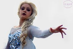 Elsa from Frozen Disney cosplay by Helnns Cosplay at London Super Cosplay Comic Con #disney #frozrn #elsa