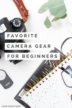 Favorite Camera Gear for Beginners Canon Camera Tips, Dslr Camera Reviews, Camera Deals, Camera Rig, Camera Hacks, Camera Nikon, Canon Dslr, Bridge Camera, Canon Cameras