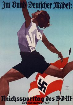 Nazi Olympic Games Propaganda (Germany, 1934)