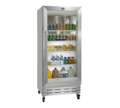 "Kelvinator Commercial (KCGM180RQY) 32"" Wide Reach-In Refrigerator featuring One Glass Door (Energy Star®)"