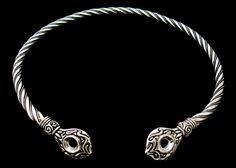 Handcrafted Celtic Torcs &Viking Neck Rings in Silver & Bronze Jewelry Tags, Jewelry Accessories, Neck Rings, Princess Cut Diamond Earrings, Thick Gold Chain, Platinum Jewelry, Diamonds And Gold, Silver Pendants, Silver Necklaces