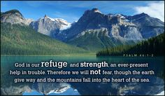 Free Refuge and Strength eCard - eMail Free Personalized Scripture Cards Online