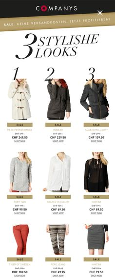 stylische Winter Looks  3 Kombinationen zum Verlieben!
