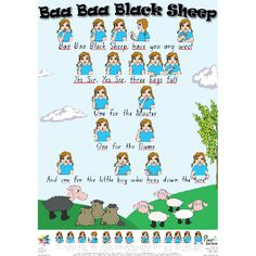 Great nursery rhyme visual aids for Makaton in the classroom