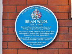 A memorial to Brian Wilde (Foggy Dewhurst).