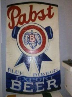 5 ft tall Wood PBR can
