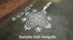 Rangoli Patterns, Rangoli Ideas, Rangoli Designs With Dots, Rangoli Designs Images, Rangoli Designs Diwali, Diwali Rangoli, Beautiful Rangoli Designs, Bridal Mehndi Designs, Mehandi Designs