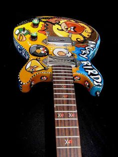 Angry Birds Guitar