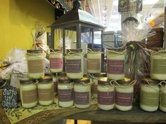 We have 6 new heavenly scented candles from Surf's Up including pineapple jasmine, fig, lemon biscotti, sangria, coconut lime, and yes chocolate cherry. Stop by for a whiff:)