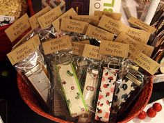 key fobs by Spotted Stone Studio {Krista}, via Flickr