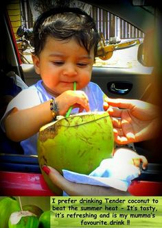 Drink healthy tender coconut than aerated drinka
