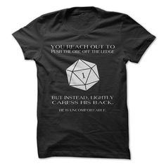 Dungeons and Dragons  Funny Gaming T-Shirt by GnarlyTeeShirts