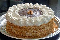 Baking Recipes, Cake Recipes, Dessert Recipes, Desserts, Torte Recipe, Serbian Recipes, Torte Cake, No Bake Cake, Sweet Recipes