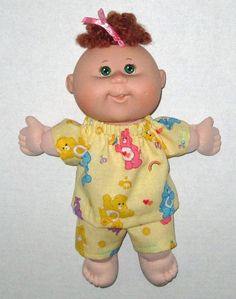 Doll Clothes Cabbage Patch Surprise Care Bear  by Dakocreations, $13.99
