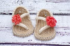Crochet Baby Pattern Sandals - Carefree Sandals number 219 Instant Download by TwoGirlsPatterns on Etsy