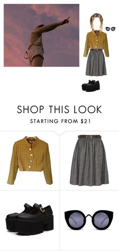 """""""Wanna see something cool?"""" by lethargic-ailurophile on Polyvore featuring Valentino, River Island and Quay"""