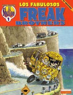 """Los fabulosos Freak Brothers"" - Gilbert Shelton."