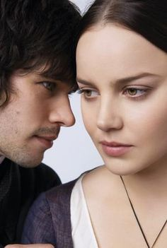"Ben Whishaw and Abbie Cornish portray the characters of John Keats and Fanny Brawne respectively in the movie ""Bright Star""........"