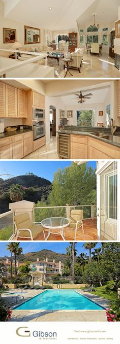 Open till 2pm today (12/8/15). Bright Palisades townhome with beautiful views. See the designer interior with agent Kris Kelly.