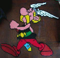Asterix Hama perler