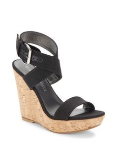 STUART WEITZMAN X-Ray Wedge Sandals. #stuartweitzman #shoes #sandals