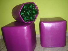 Como Fazer Puff de Garrafas Pet | Passo a Passo - Recicla e Decora