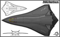by sharp-n-pointy on DeviantArt Spaceship Art, Spaceship Design, Spaceship Concept, Concept Ships, Stealth Aircraft, Military Aircraft, Army Vehicles, Armored Vehicles, Sci Fi Ships