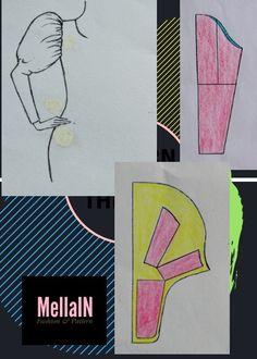 Pattern Drafting Tutorials, Sewing Tutorials, Sewing Lessons, Sewing Hacks, Dressing Gown Pattern, Pola Lengan, Sewing Collars, Sewing Sleeves, Sewing Blouses