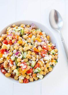 Chickpea Salad: