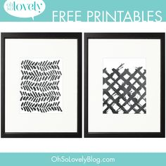 FREEBIES+//+MORE+PAINT+SWOOSH+PRINTABLES+-+Oh+So+Lovely+Blog
