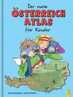 Produktcover: Der neue Österreich-Atlas für Kinder Film Books, Book Club Books, Book Recommendations, Classroom, Baseball Cards, Reading, Fictional Characters, Austria, German