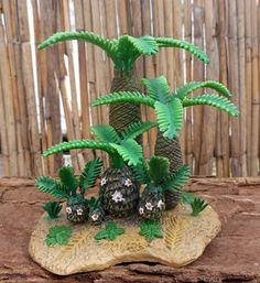 Dinosaur Toy Blog | Monanthesia and Cycadeoidea (CollectA)