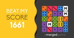 Beat my score! #mergedgame http://merged.it