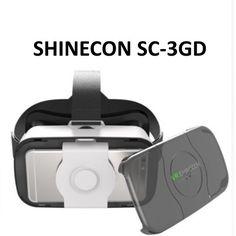 SHINECON VR Headset V3.0 SC-3GD 3d Glasses, Vr Headset, Apple Tv, Virtual Reality