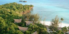 Chumbe Island Coral Park, near Stone Town, Zanzibar Hotel Reviews | i-escape.com