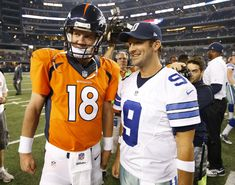 Who's going to Super Bowl XLIX? Who should be the NFL MVP? American Football League, National Football League, Football Players, Football Helmets, Tony Romo, Football Conference, Usa Today Sports, Denver Broncos, Dallas Cowboys