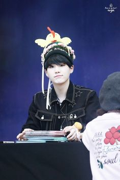How does he still look so perfect when he has a chicken on his head?!?!?