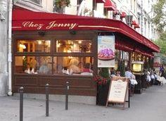 Parijs, Chez Jenny, een thuisgevoel