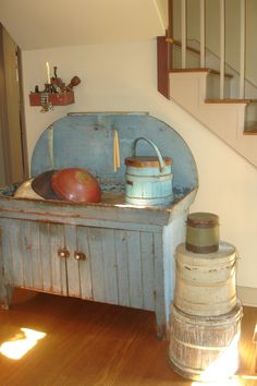 SMP/ LOVE this dry sink!