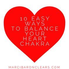 10 Easy Ways To Balance Your Heart Chakra